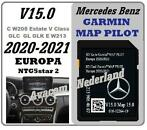Mercedes SD kaart Garmin Map Pilot V15  2021 W213 W205 C GLC