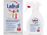 *FREE POSTAGE* Ladival SPF50 Kids Sun Spray Protection 200ml