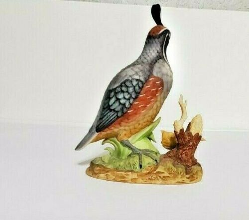 California Quail By Stefani Figurine