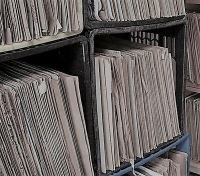 "Large Collection of 100x Various 10"" 78RPM Gramophone Records"