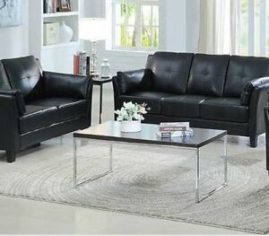 "Brand new leather sofa & loveseat $798 Only""DECEMBER PROMO ONLY"""