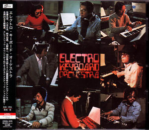 ELECTRO KEYBOARD ORCHESTRA 1975 Obscure JAZZ FUNK mega rare Japan CD OOP sealed