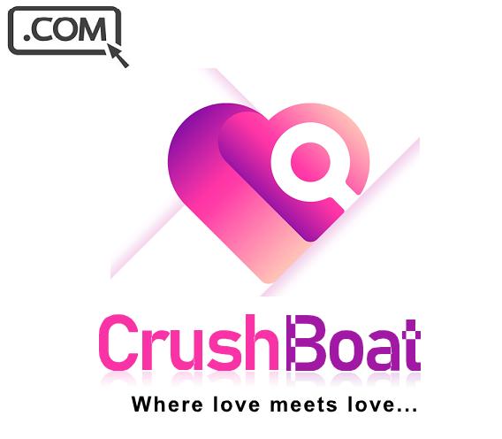 CrushBoat .com Premium Brandable Domain Name For Sale CRUSH LOVE DATING DOMAIN - $10.50