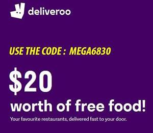 $20 of free food at Deliveroo! NEW CODE Bondi Beach Eastern Suburbs Preview