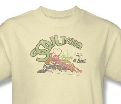 Soul Train T-shirt Free Shipping vintage inspired 1970's disco music cotton tee (Soul Train Shirt)