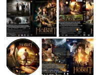 The Hobbit dvds (all 3 in series of films)