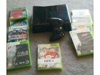 XBOX 360 on Sale with 9 Games