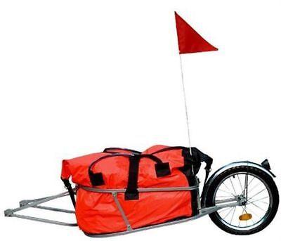 Fahrradanhänger Lastenanhänger Transportanhänger Fahrrad Anhänger 90L Tasche Neu
