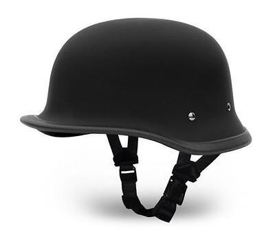 Novelty Motorcycle Helmet BIG German Style by Daytona-2 COLORS TO CHOOSE!