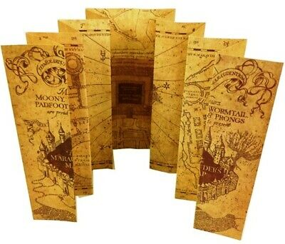 Harry Potter Marauder's Map + Knight Bus & Hogwarts Tickets and FREE stickers!!