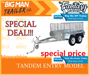 in stock^8x5 Hot Dipped Galvanised Tandem Box Trailer Cage# Clayton Monash Area Preview