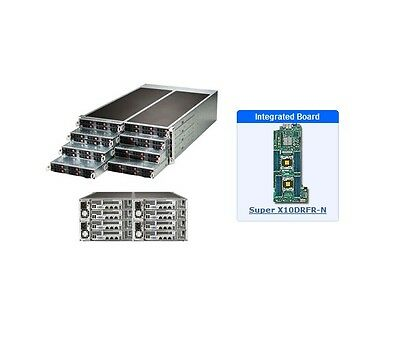 *NEW* Supermicro SYS-F618R2-RC0+ 4U Server - 8 Hot-plug System Nodes