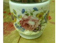Royal Worcester fine porcelain egg cup