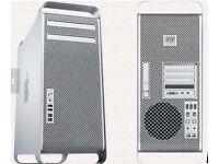 MAC PRO 32GB RAM LASTEST OS XEON QUAD CORE 8 LOGICAL 1TB HHD 120GB SSD