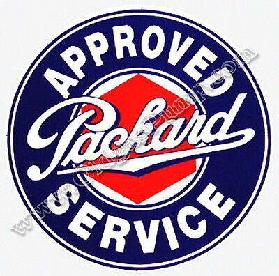 Packard Auto Approved Service Dealer Sign 25.5 Bs-009 Free Shipping