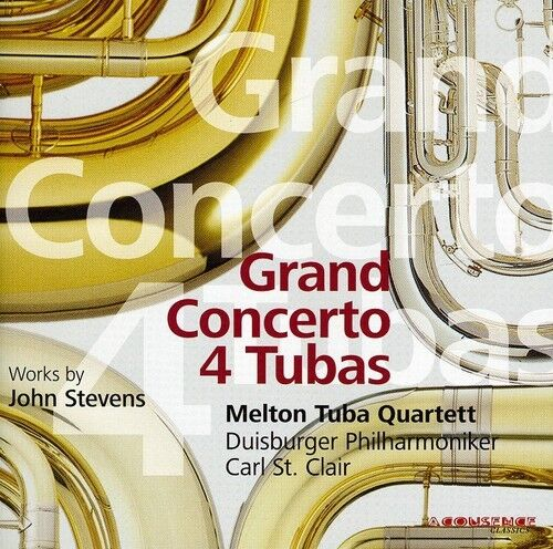Melton Tuba Quartett - Grand Concerto 4 Tubas [New CD]