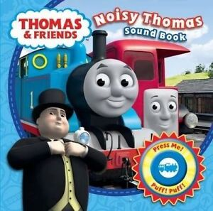 Thomas & Friends Noisy Thomas! Sound Book By Catherine Shoolbred Board Book NEW