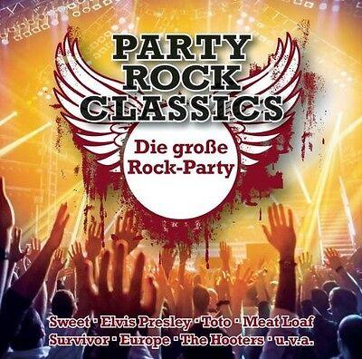 VARIOUS - PARTY ROCK CLASSICS-DIE GROßE ROCK PARTY!  CD NEU