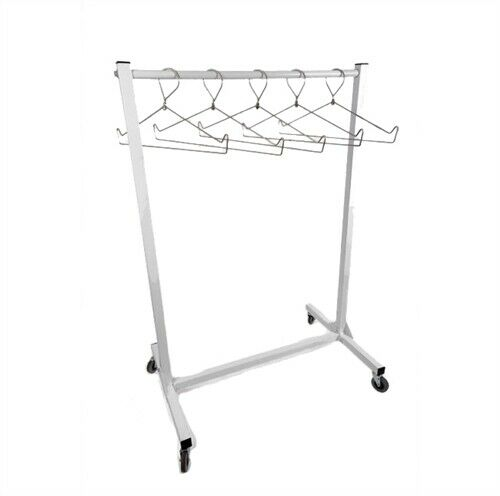 "Mobile X-Ray Apron Rack, 36"" Wide"