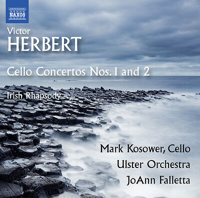 Joann Falletta   Victor Herbert  Cello Concertos Nos 1   2   Irish  New Cd