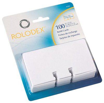 Rolodex Plain Rotary File Cards 67558