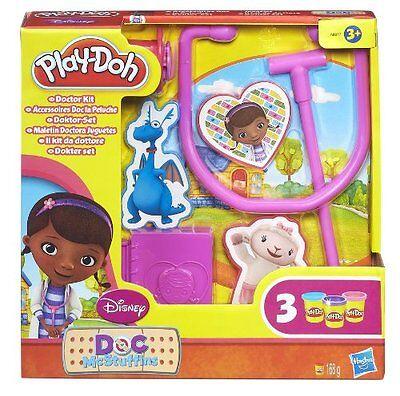 McStuffins Doctor Kit Toy Includes 3 x Play-Doh Pots (Doc Mcstuffins Play-doh)