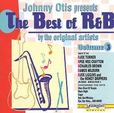 JOHNNY OTIS PRESENTS THE BEST OF R&B VOLUME 3 - Joe Turner, (1993) New Sealed