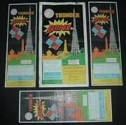 Thunder Bomb Firecracker Label