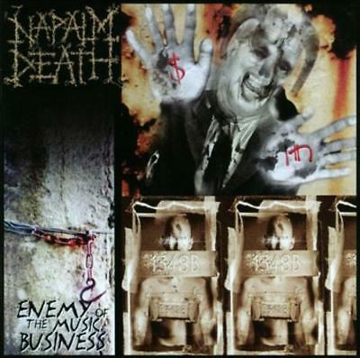 NAPALM DEATH - ENEMY OF THE MUSIC BUSINESS/LEADERS NOT FOLLOWERS NEW CD