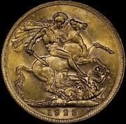 Gold Sovereign MS