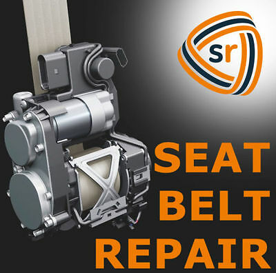 FORD F-150 Seat Belt Repair F250 F350 REBUILD AFTER ACCIDENT - FIX (Ford F150 Seat Belt)