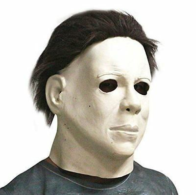 Michael Myers Halloween-kostüme (Michael Myers grusel Maske Latex Karneval Kostüm Halloween Verkleidung Maniacs)