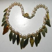 Vintage Baroque Pearl Necklace