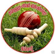 Cricket Cake Toppers