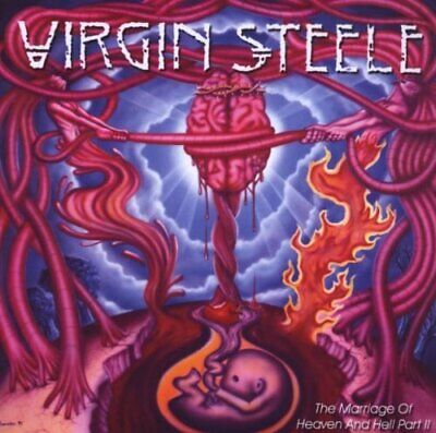 Virgin Steele : The Marriage of Heaven and Hell Part 2 CD (2008) Amazing (Virgin Steele The Marriage Of Heaven And Hell)