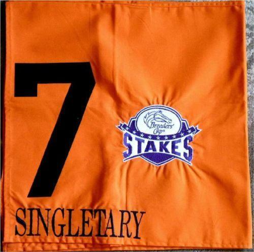 Saddle Cloth Horse Racing Ebay