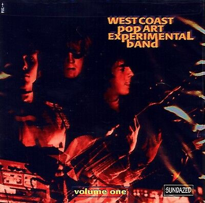 WEST COAST POP ART EXPERIMENTAL BAND Volume One CD NEW RARE PSYCH SUNDAZED
