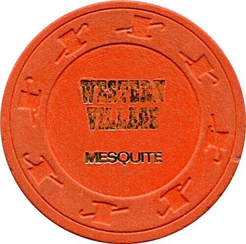 Western Village, Mesquite $.50 Casino Chip