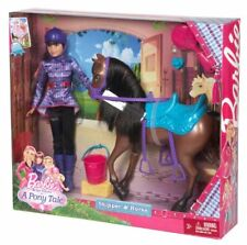 Barbie and her sisters in a Pony Tale, coloring Barbie- DinoKids.org | 223x225