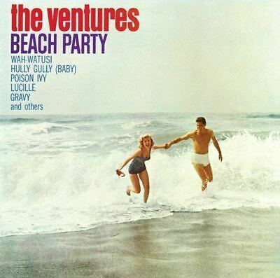 Beach Party Ideas (The Ventures - Beach Party (2016)  CD  NEW Poison Ivy Lucille Gravy Gift)