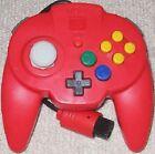 Hori Nintendo 64 Red Controllers