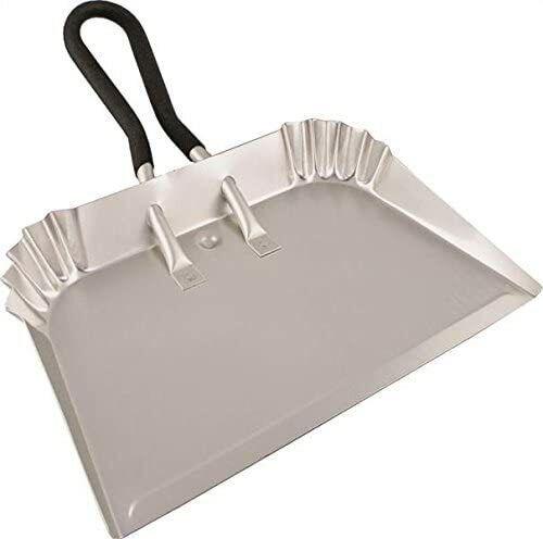 "Edward Tools Extra Large Industrial Aluminum Dust Pan, 17"" Lightweight"