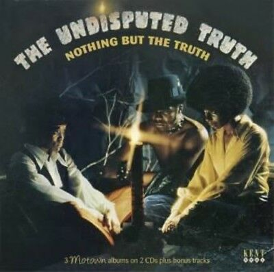 The Undisputed Truth   Nothing But The Truth  3 Motown Albums  New Cd  Bonus Tra