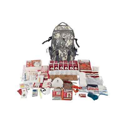 Zombie Survival Kit Bug Out Bag Backpack Be Prepared Camo Grab and Go Elite New