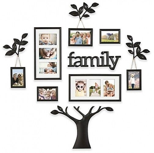 Family Tree Wall Collage Frame Set 12 PC Photo Picture Art ...