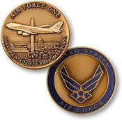 Air Force One Challenge Coin