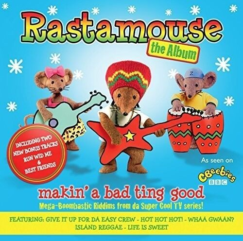 Rastamouse - Makin a Bad Ting Good [New CD] UK - Import