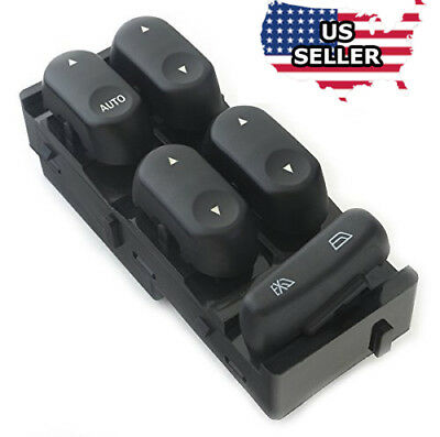 Electric Power Master Window Switch For 00-07 Ford Taurus 00-05 Mercury Sable - Mercury Sable Power Window
