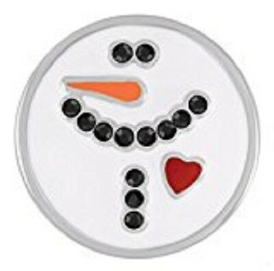 Fits Ginger Snaps SNAP Interchangeable Snowman JEWELRY Bracelet Button 18mm