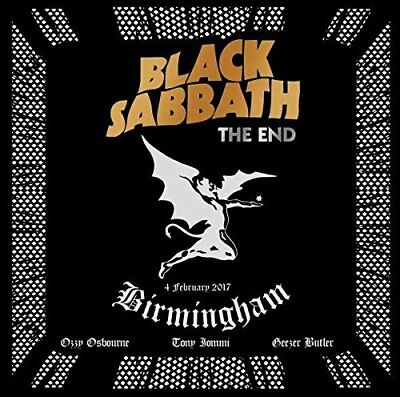 BLACK SABBATH CD - THE END [2 DISCS](2017) - NEW UNOPENED - ROCK METAL